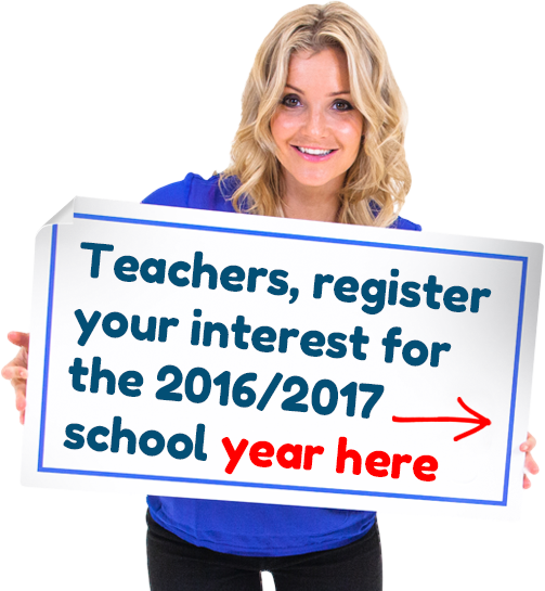 Register your interest for the 2016/2017 school year here